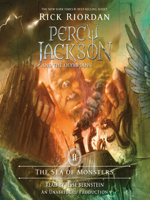 Title details for The Sea of Monsters by Rick Riordan - Available